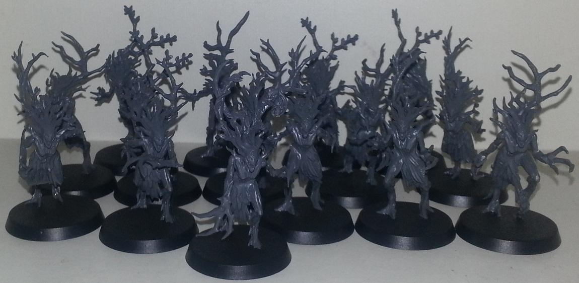 Indilwen's Leafguard - AoS Sylvaneth - 10/7/16 - Dryads and Hunters