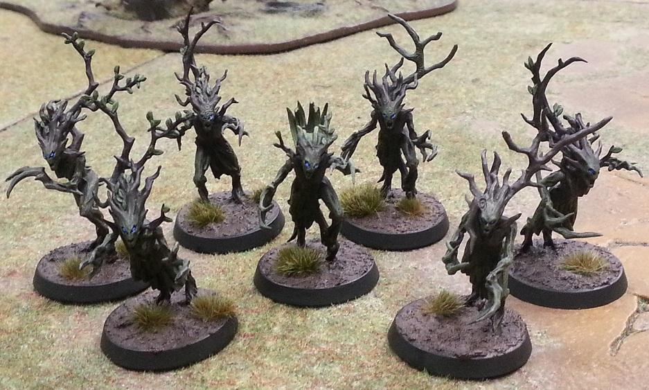 Indilwen's Leafguard - AoS Sylvaneth - 10/7/16 - Dryads and