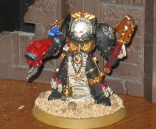Space Marines, Terminator Chaplain