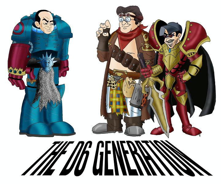 Logo, The D6 Generation