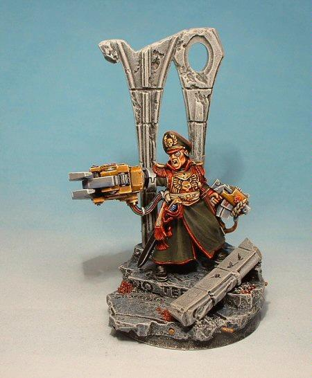 Commissar, Imperial Guard, Warhammer 40,000, Yarrick
