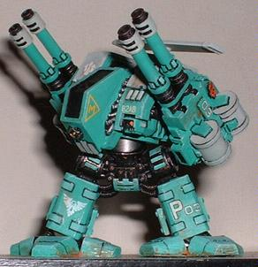 Anti-aircraft, Barpharanges, Conversion, Dreadnought, Marcross, Robotech, Space Marines, Tau, Warhammer 40,000