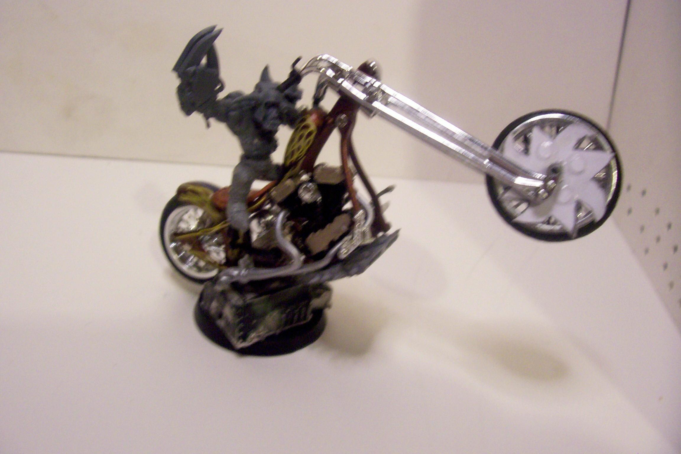 Bike, Conversion, Orks, Toy, Warboss, Warhammer 40,000, Work In Progress
