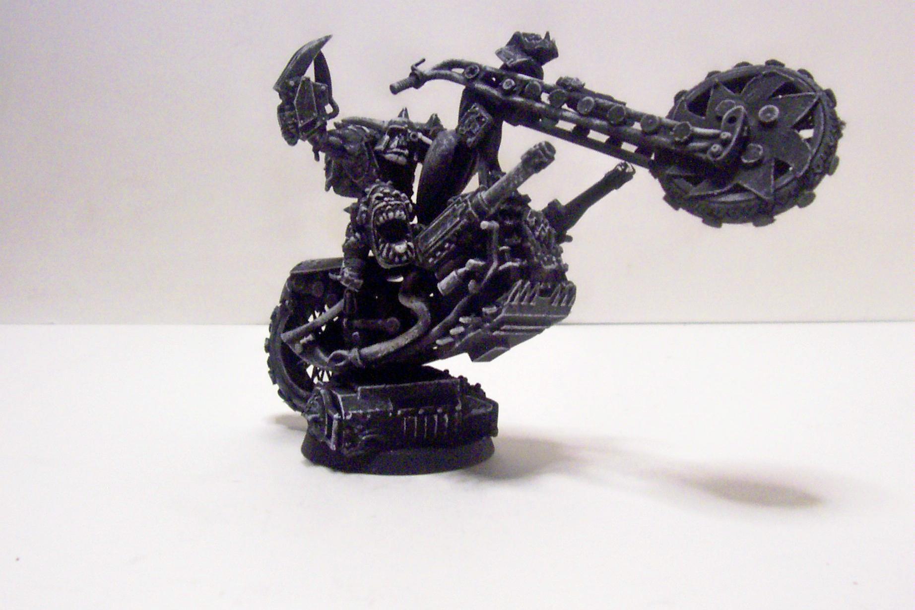 Bike, Conversion, Orks, Warboss, Warhammer 40,000
