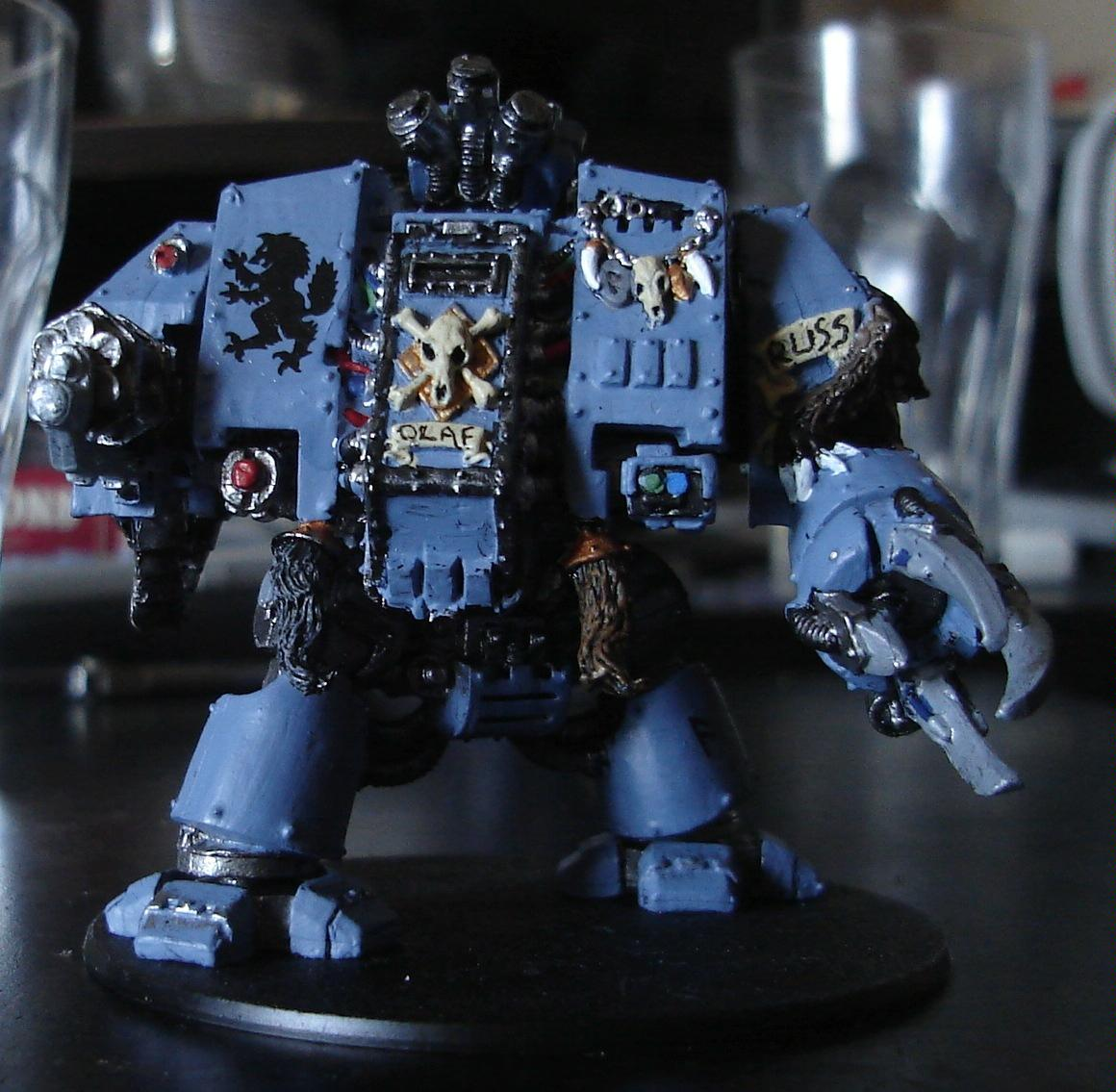 Dreadnought, Space Marines, Space Wolves, Warhammer 40,000