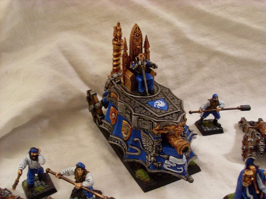 Empire, Freehand, Steam Tank, Warhammer Fantasy