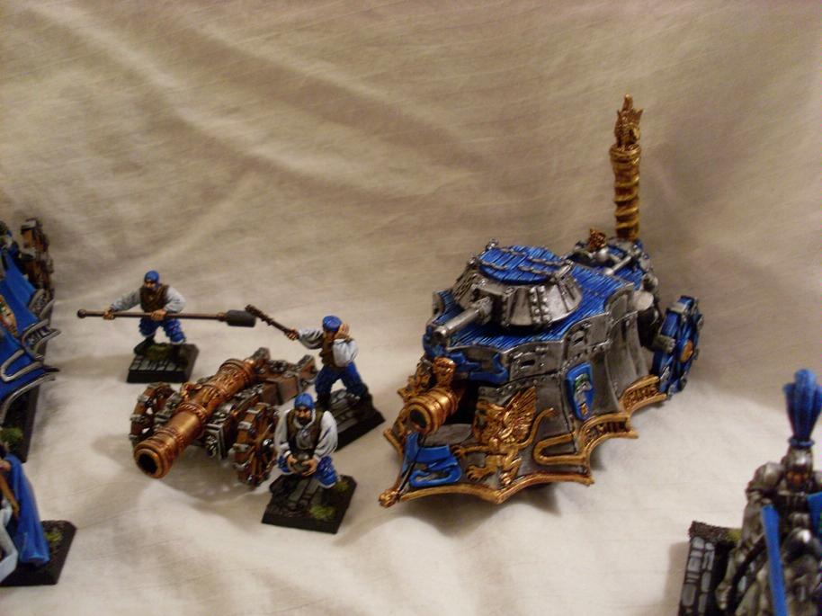 Empire, Steam Tank, Warhammer Fantasy
