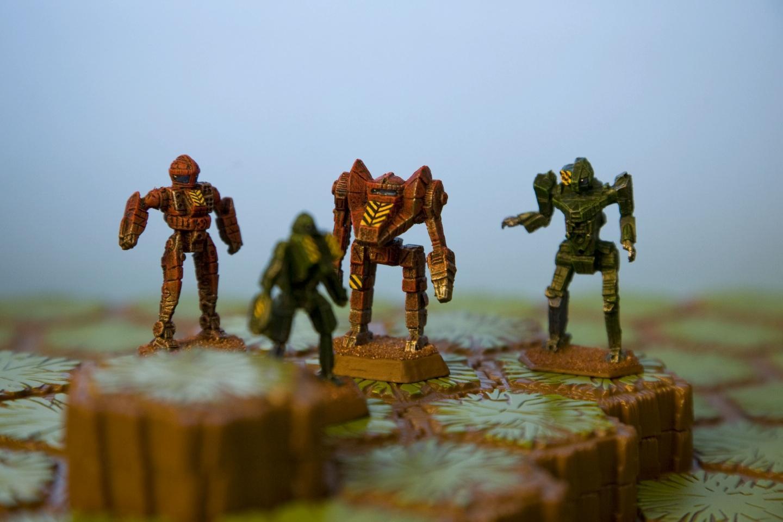 'mech, Battlemech, Battletech, Board, Brown, Dervish, Dragon, Grasshopper, Green, Heroscape, Hex, Mechwarrior, Quickdraw