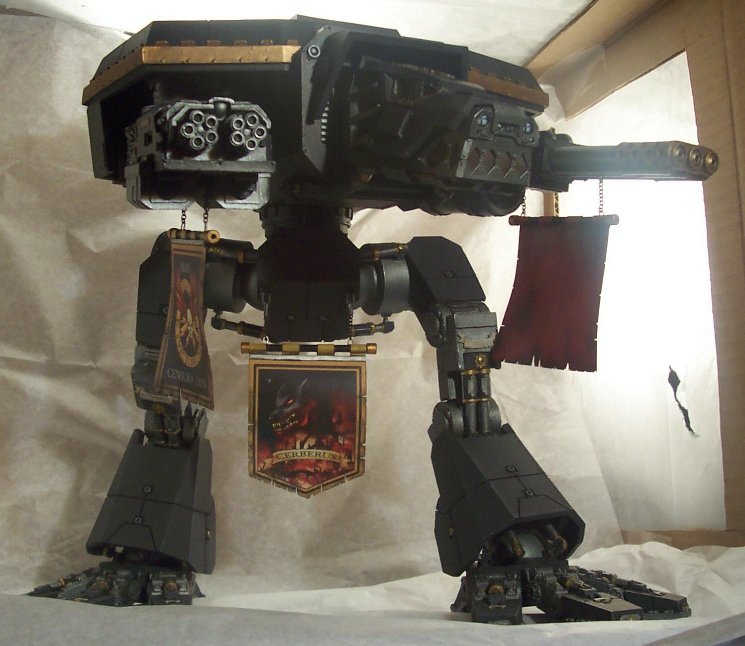Forge World, Imperial, Titan, Warhammer 40,000, Warhound