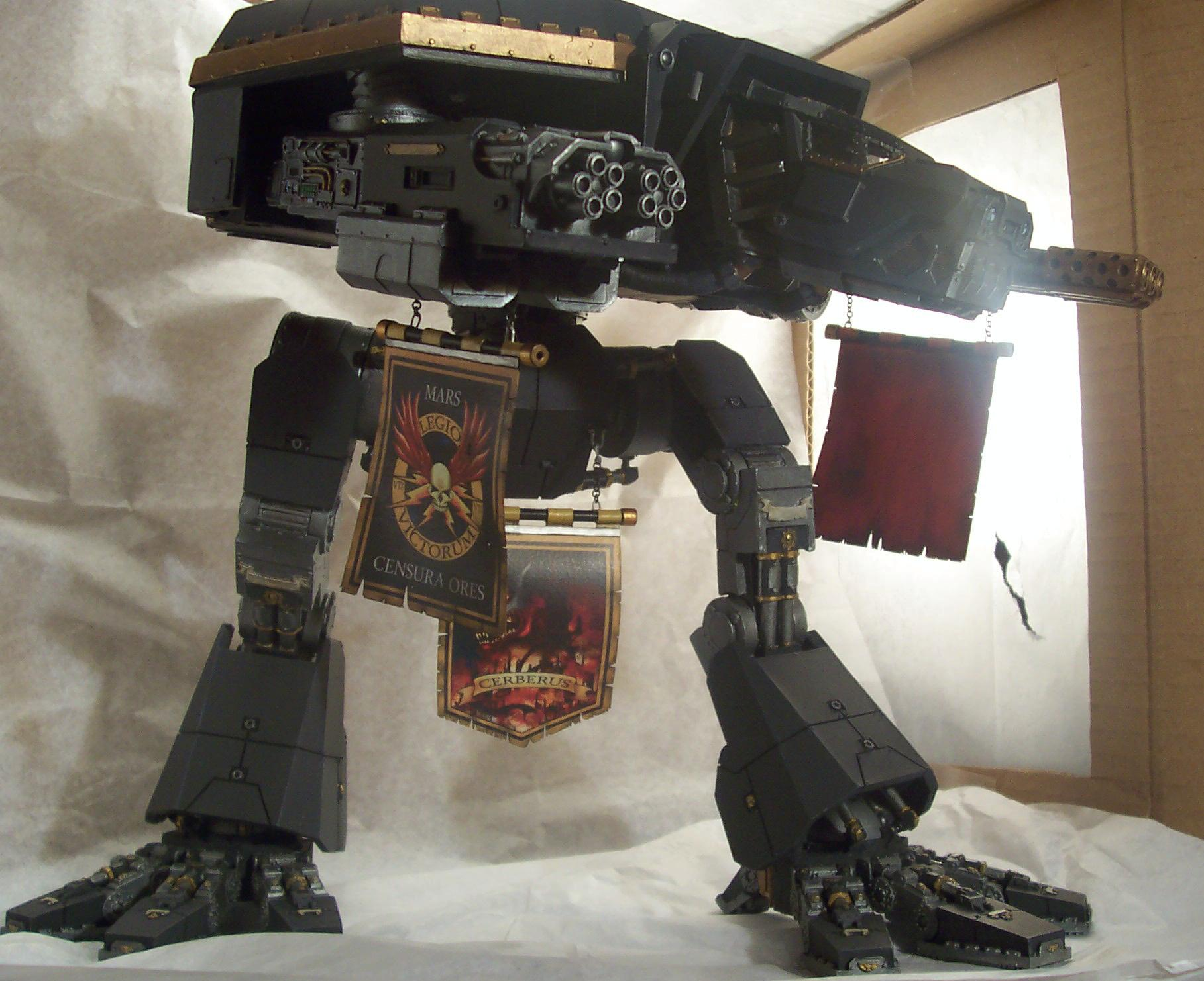 Cerberus, Forge World, Titan, Warhammer 40,000, Warhound