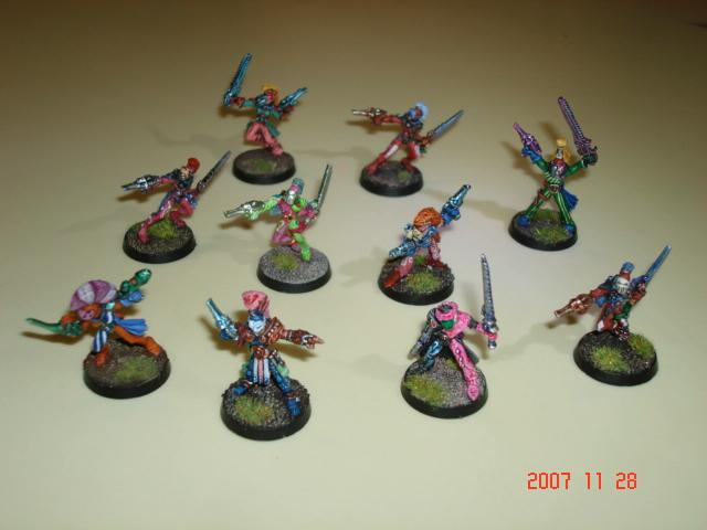Eldar, Harlequins, Warhammer 40,000