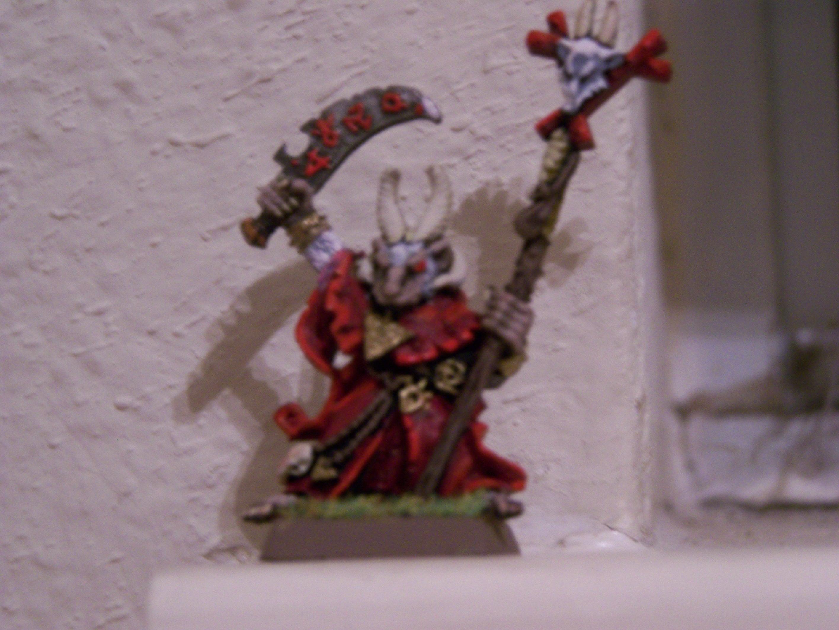 Blurred Photo, Robed, Skaven, Warhammer Fantasy