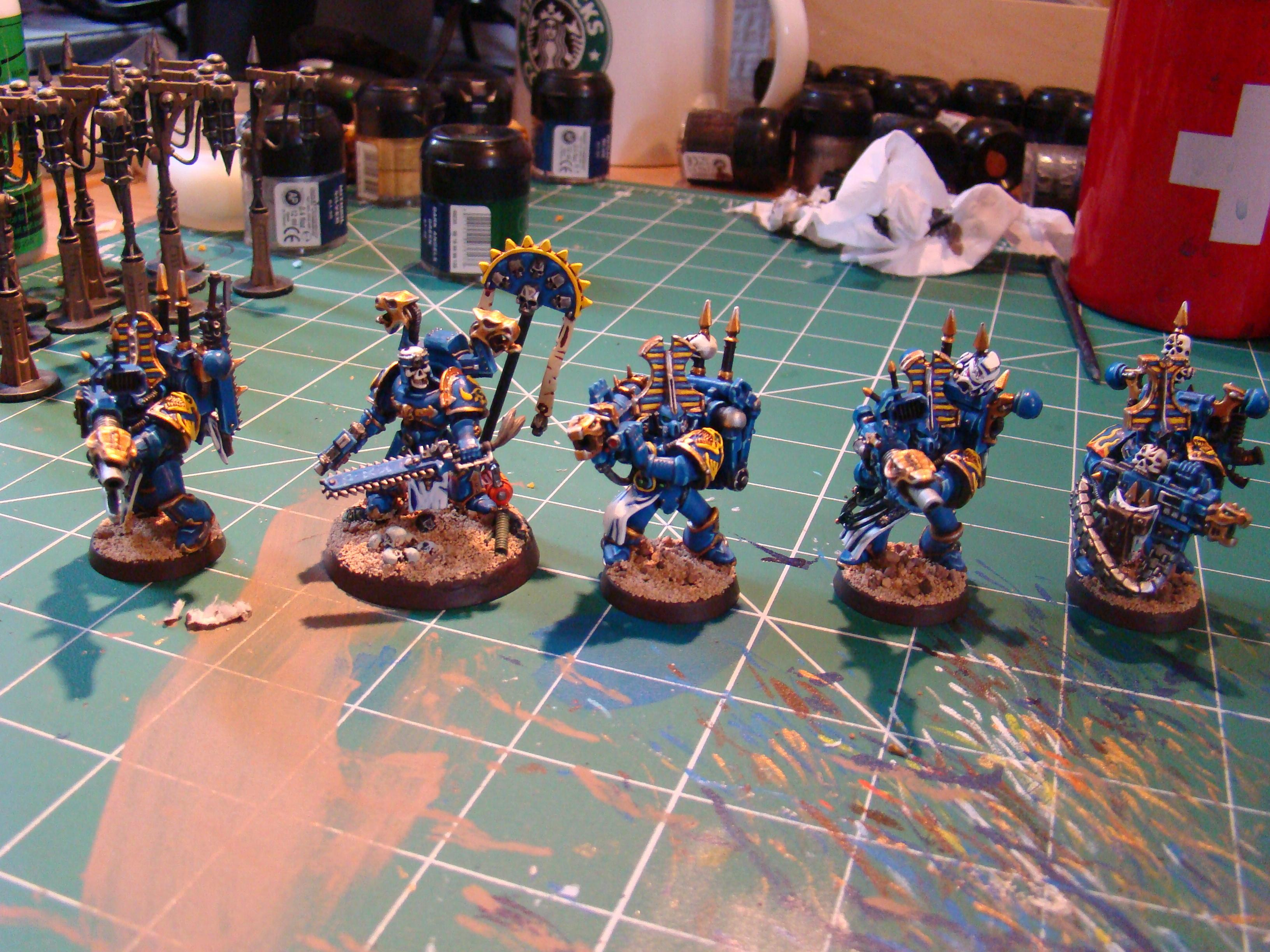 Chainsword, Chaos, Chaos Space Marines, Thousand Sons, Warhammer 40,000