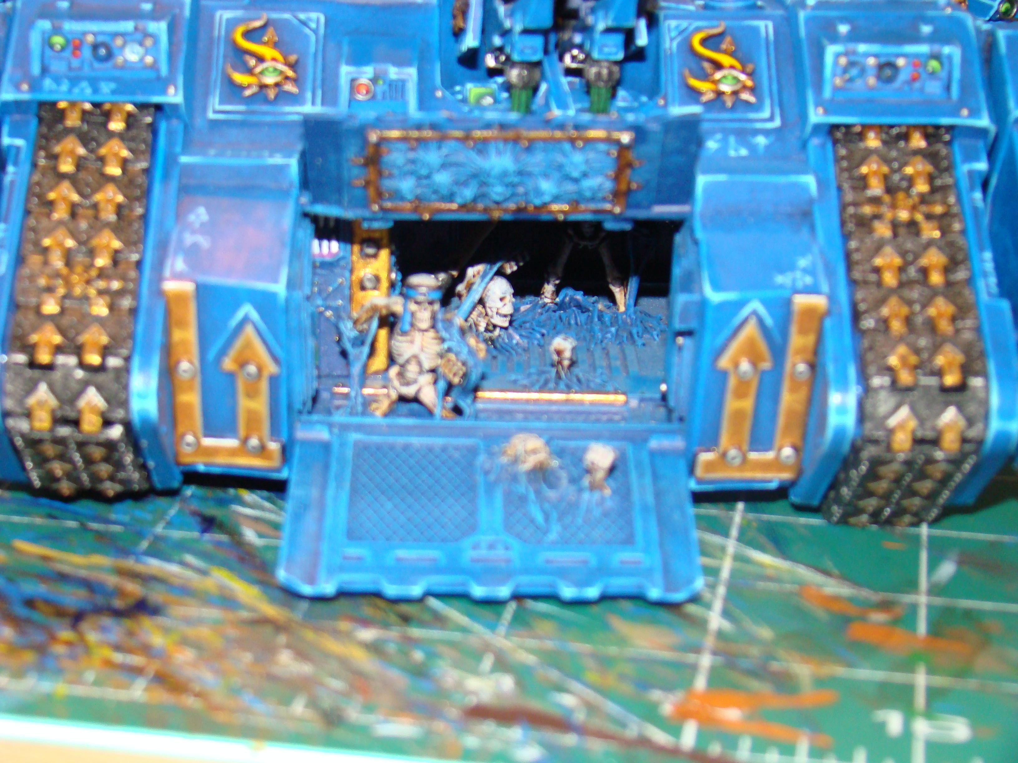 Blurred Photo, Chaos, Chaos Space Marines, Land Raider, Tank, Thousand Sons, Tzeentch, Vehicle, Warhammer 40,000