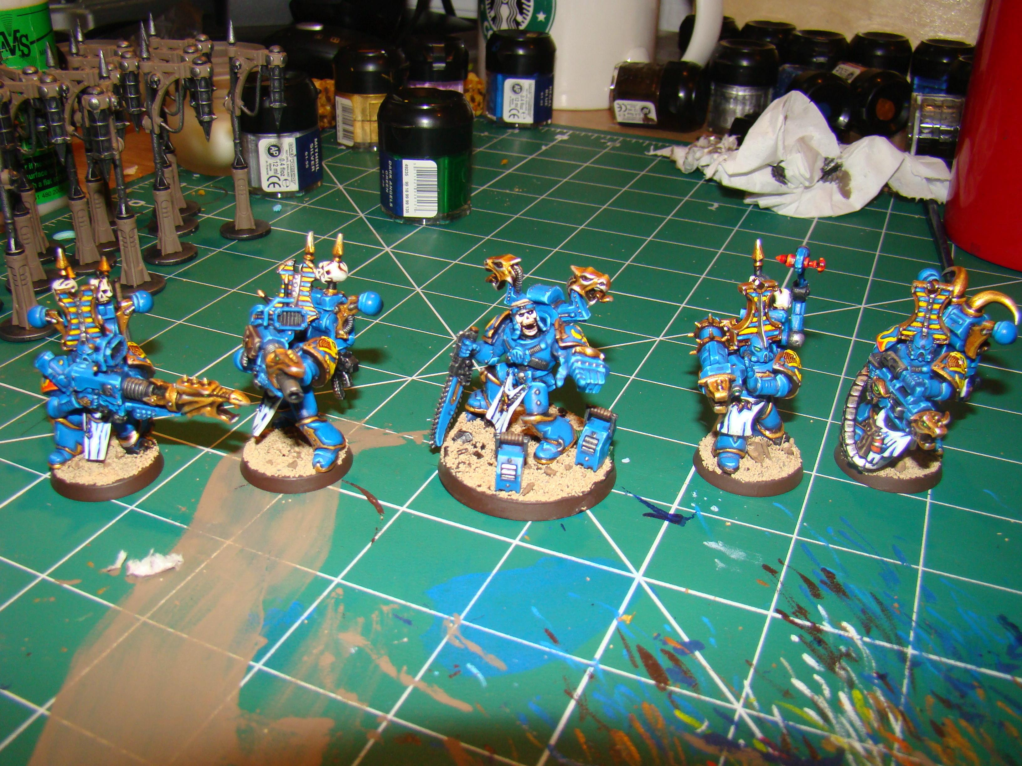 Chaos, Chaos Space Marines, Conversion, Havocs, Thousand Sons, Tzeentch, Warhammer 40,000