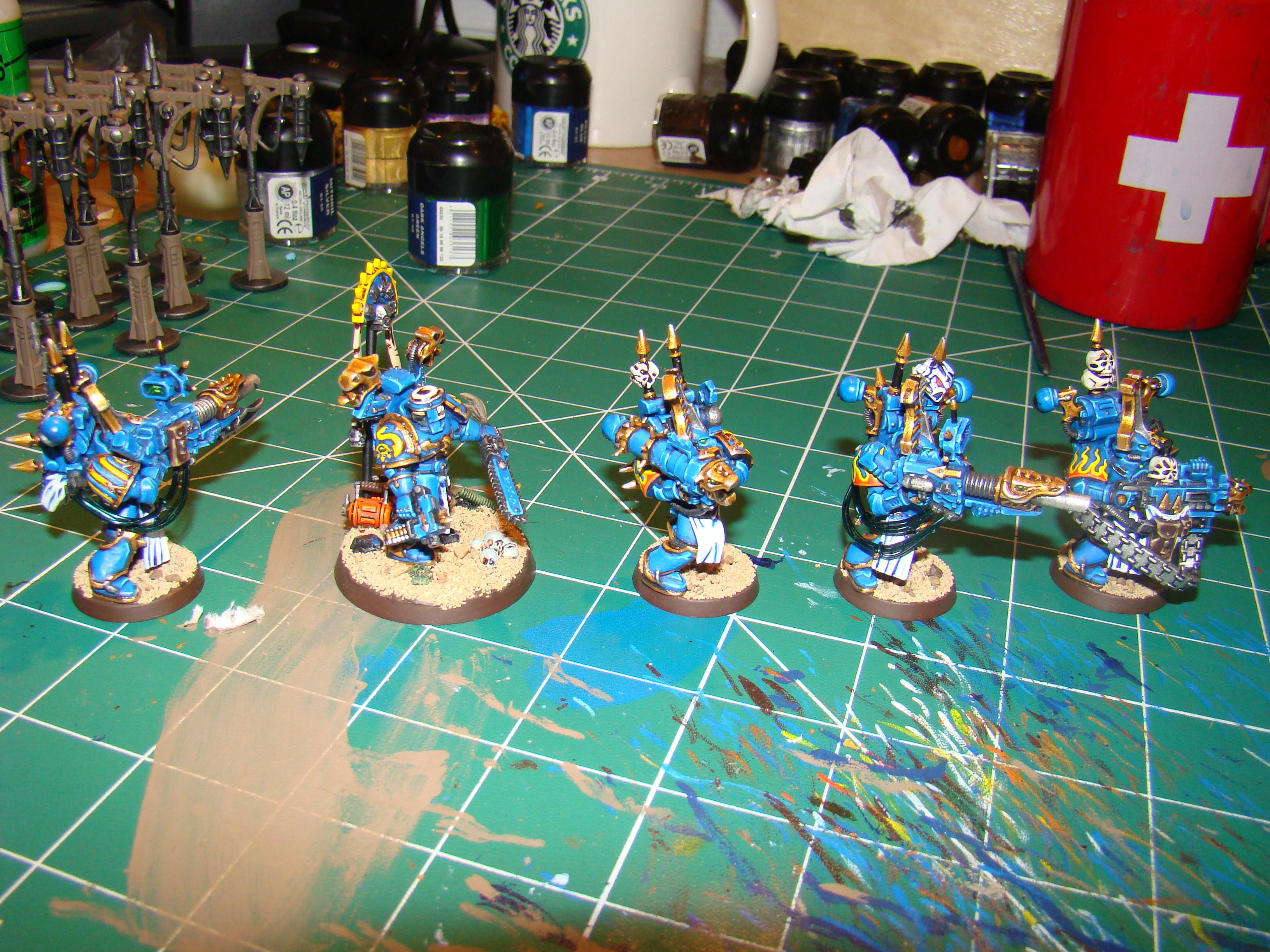 Chaos, Chaos Space Marines, Heavy Weapon, Infantry, Thousand Sons, Tzeentch, Warhammer 40,000