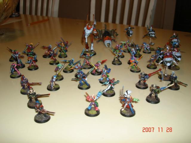Army, Eldar, Harlequins, Warhammer 40,000