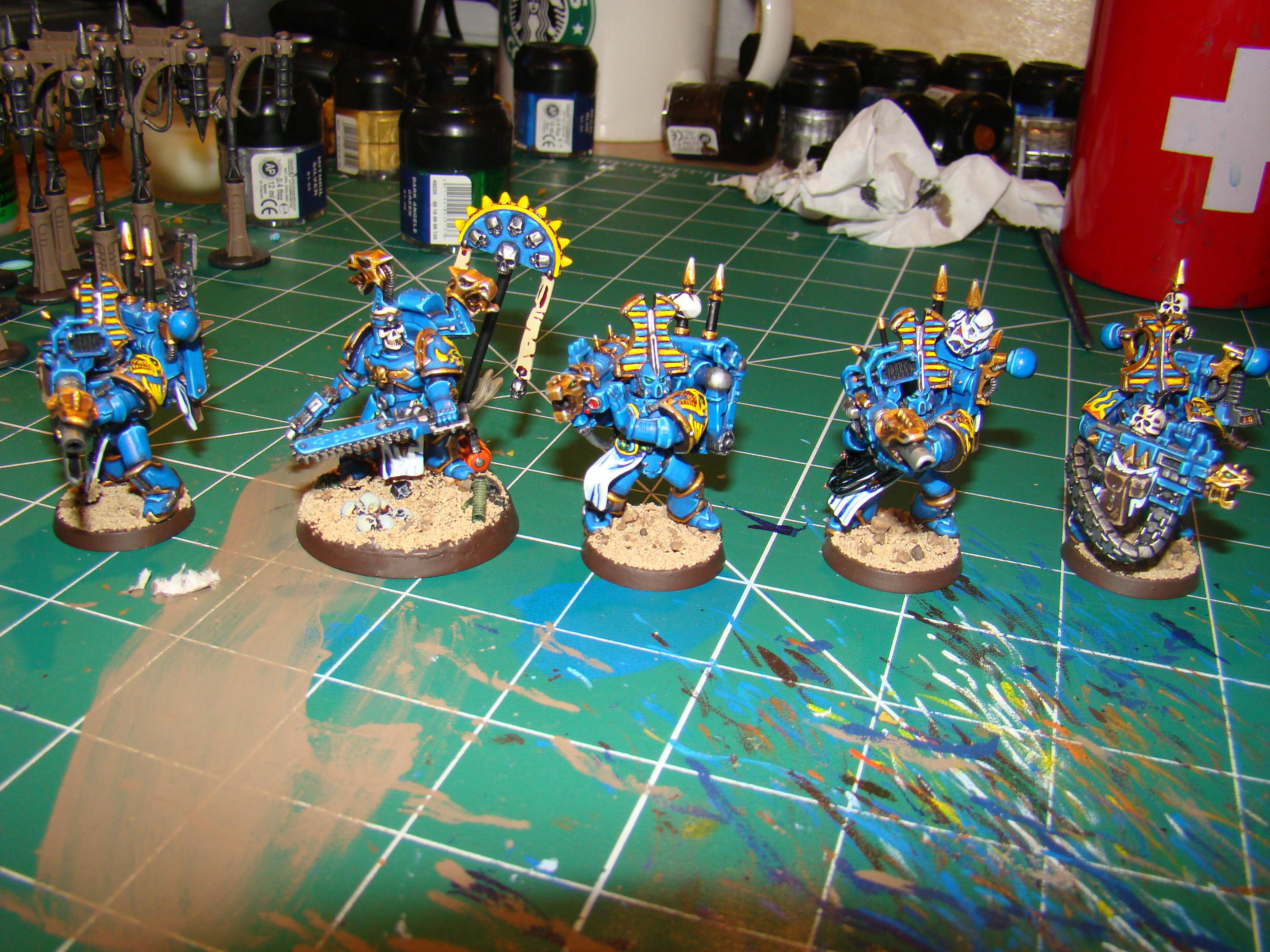 Chaos, Chaos Space Marines, Havocs, Heavy Weapon, Infantry, Thousand Sons, Tzeentch, Warhammer 40,000