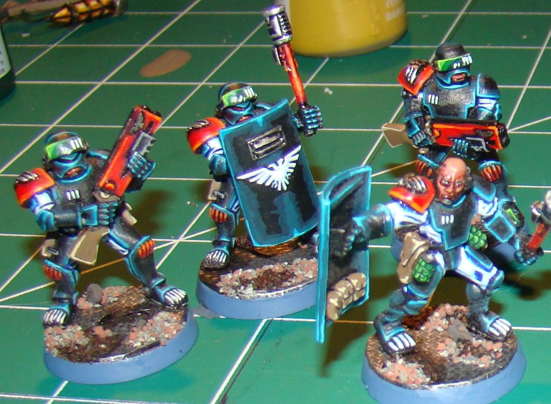 Adeptus Arbites, Edging, Infantry, Warhammer 40,000, Witch Hunters