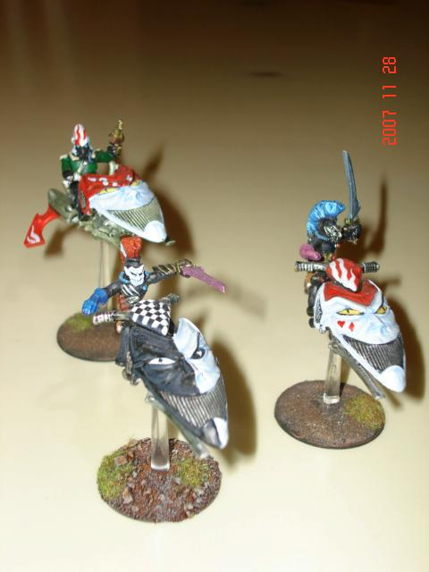 Eldar, Harlequins, Jetbike, Warhammer 40,000