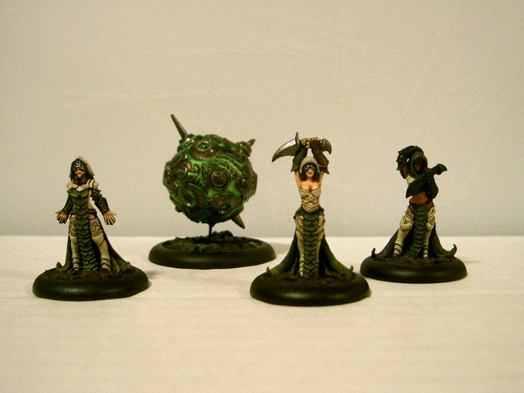 Coven, Cryx, Privateer Press, Warmachine, Work In Progress