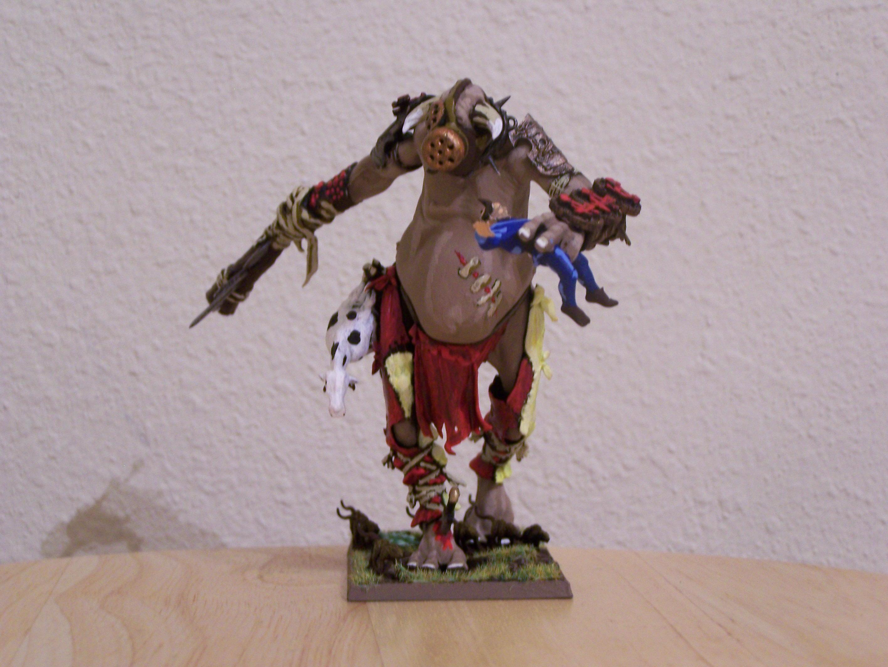 Gas Mask, Giant, Skaven, Warhammer Fantasy