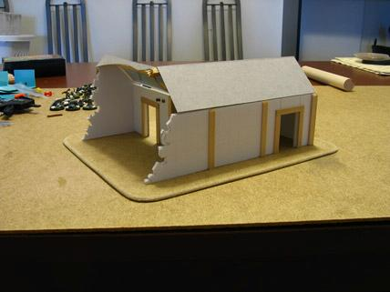Buildings, Terrain, Warmachine, Work In Progress