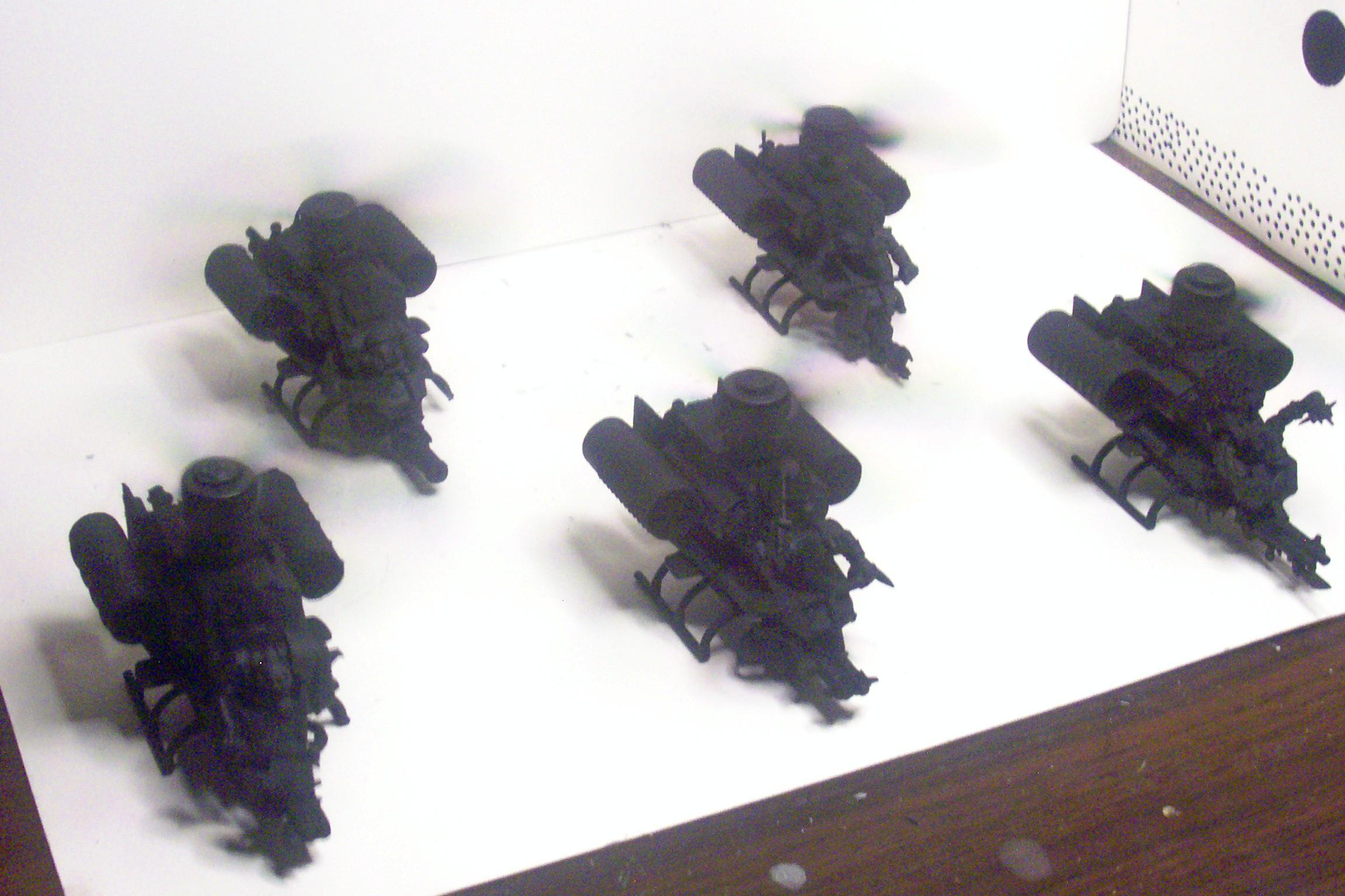 Conversion, Deffkopta, Orks, Primered, Toy, Warhammer 40,000
