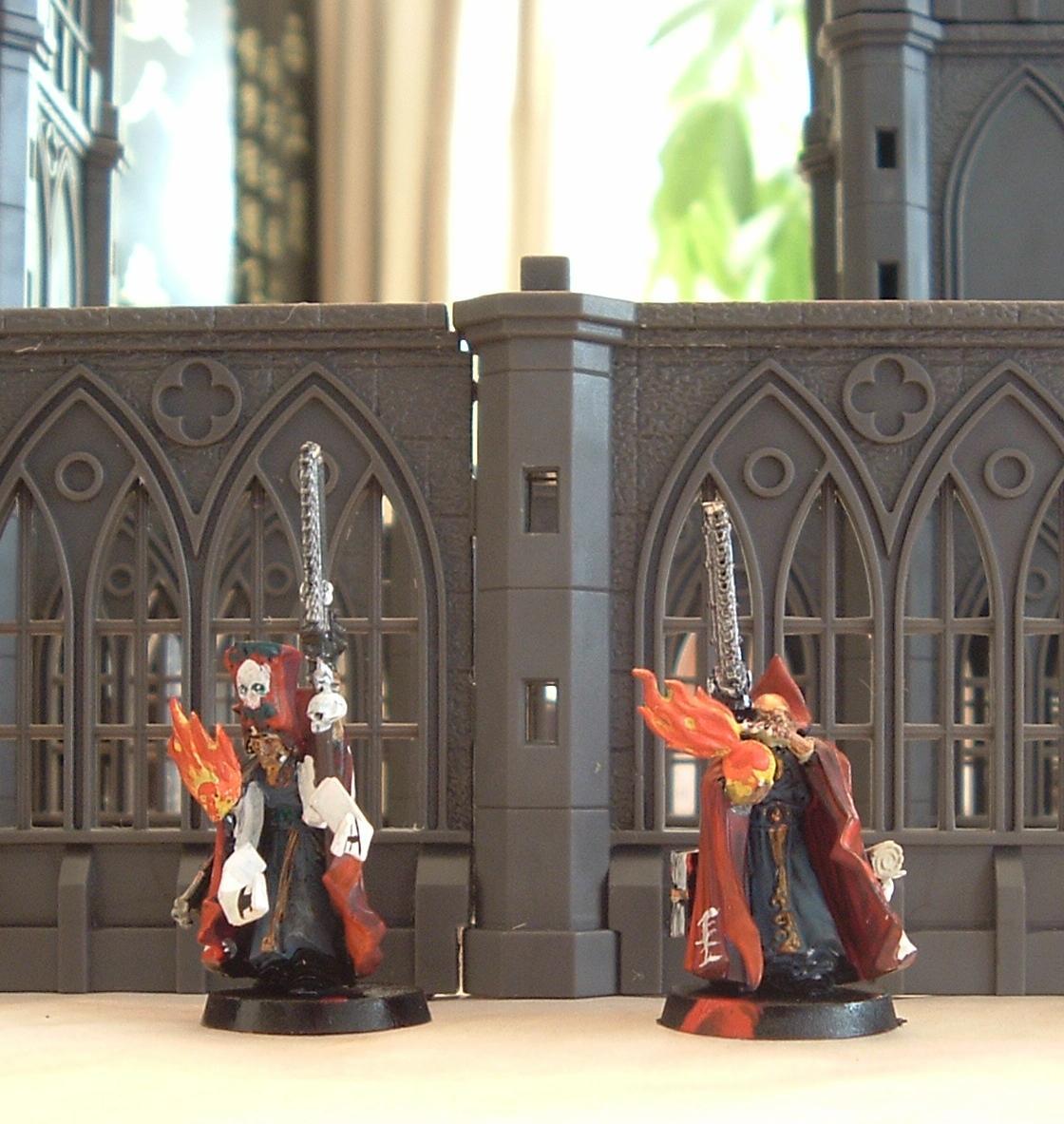 Henchmen, Inquisition, Priest, Warhammer 40,000, Witch Hunters, Wizard
