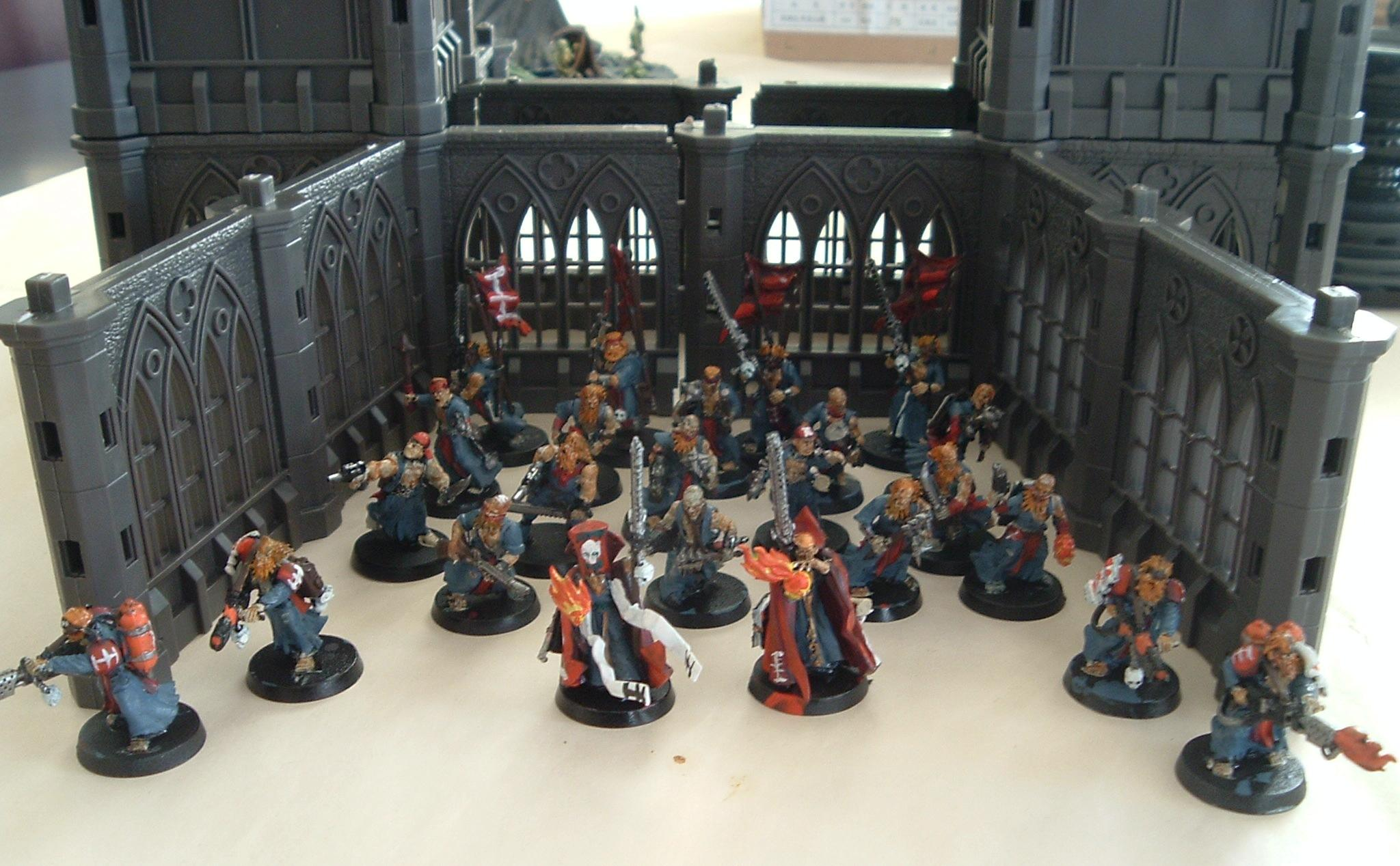 Conversion, Flagellents, Frateris Militia, Group, Imperial Guard, Inquisition, Warhammer 40,000, Zealots