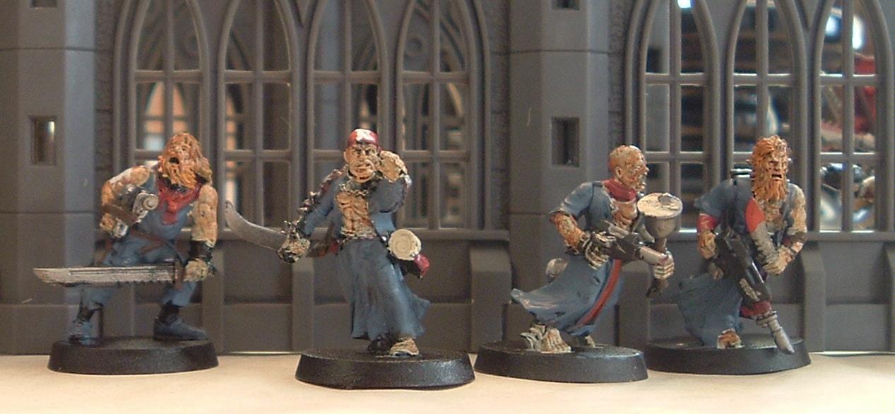 Conversion, Flagellents, Frateris Militia, Imperial Guard, Inquisition, Warhammer 40,000, Zealots