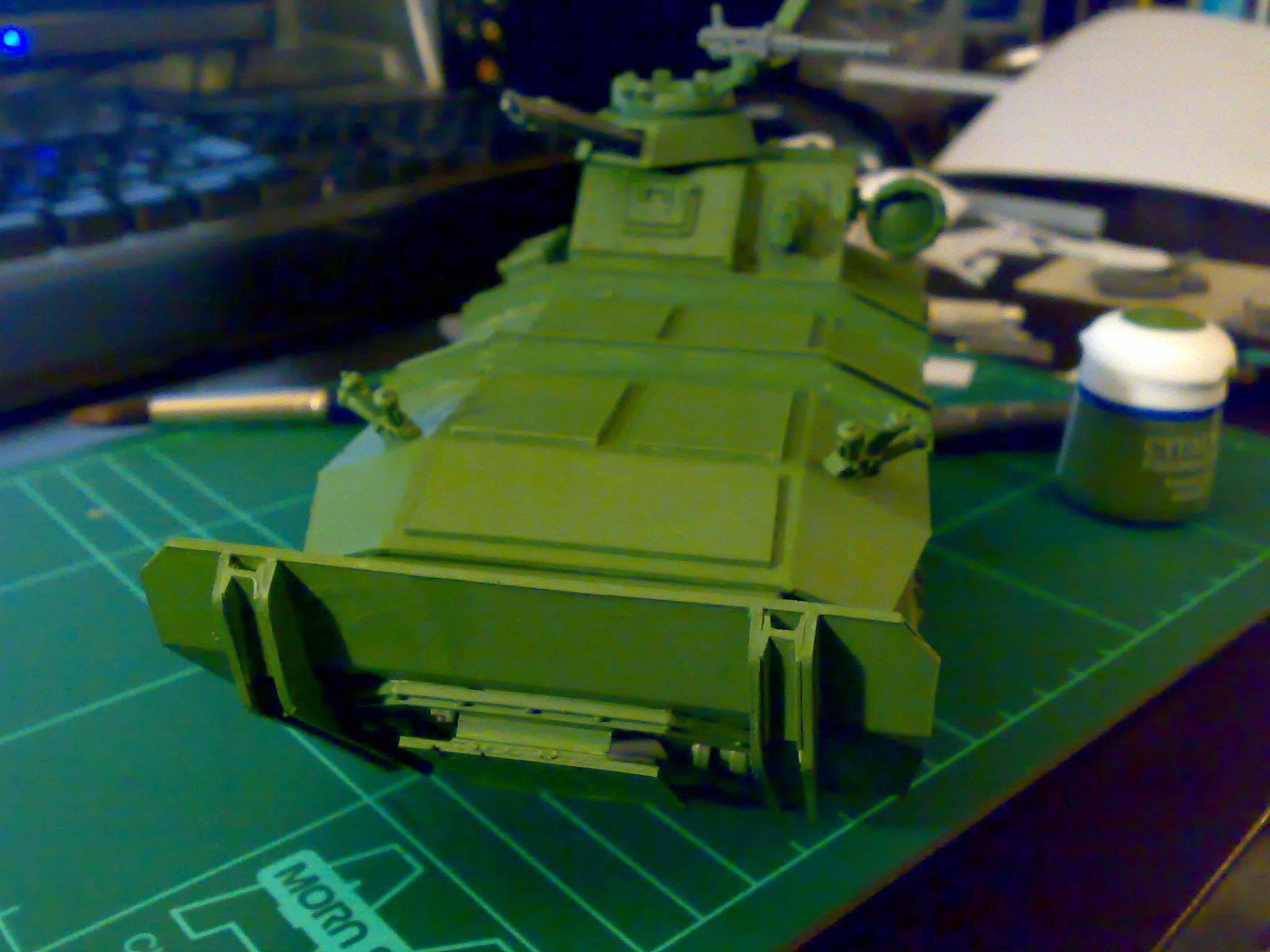 Chimera, Conversion, Gorgon, Imperial Guard, Primered, Tank, Vehicle, Warhammer 40,000
