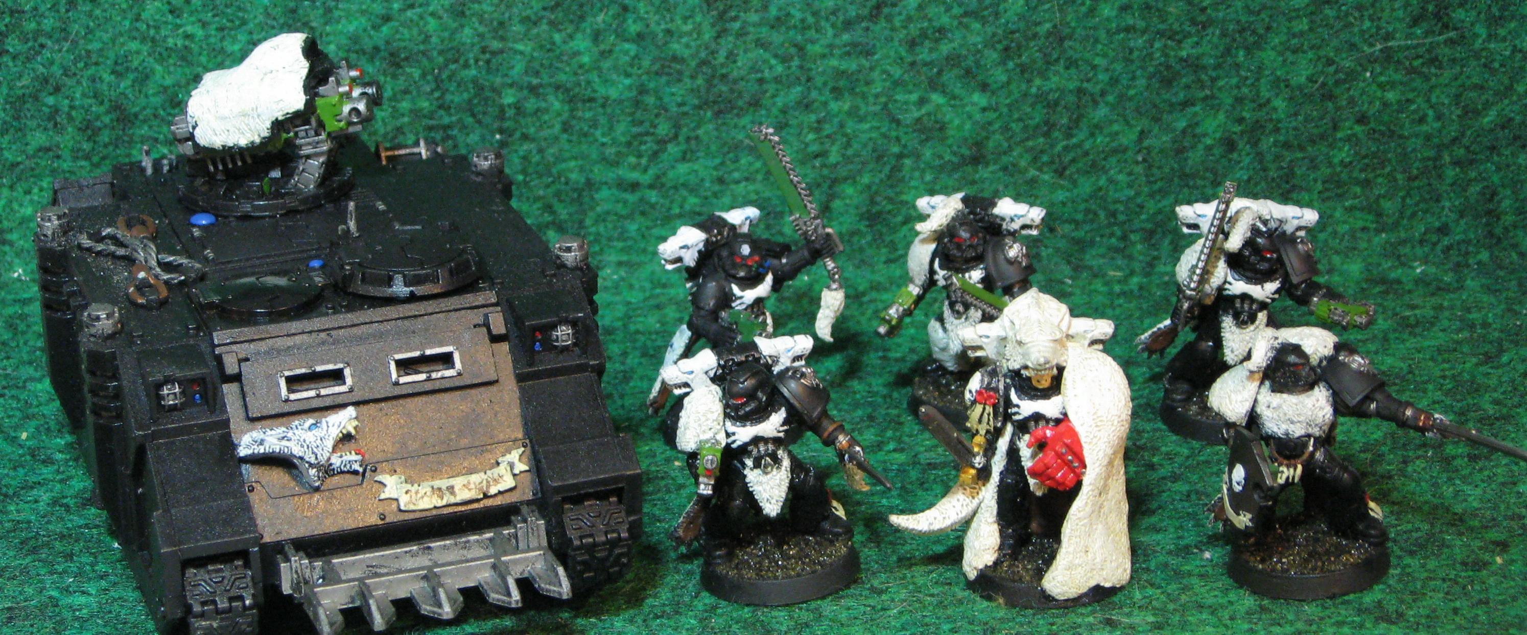 Commander, Razorback, Space Marines, Tactical Squad, Warhammer 40,000