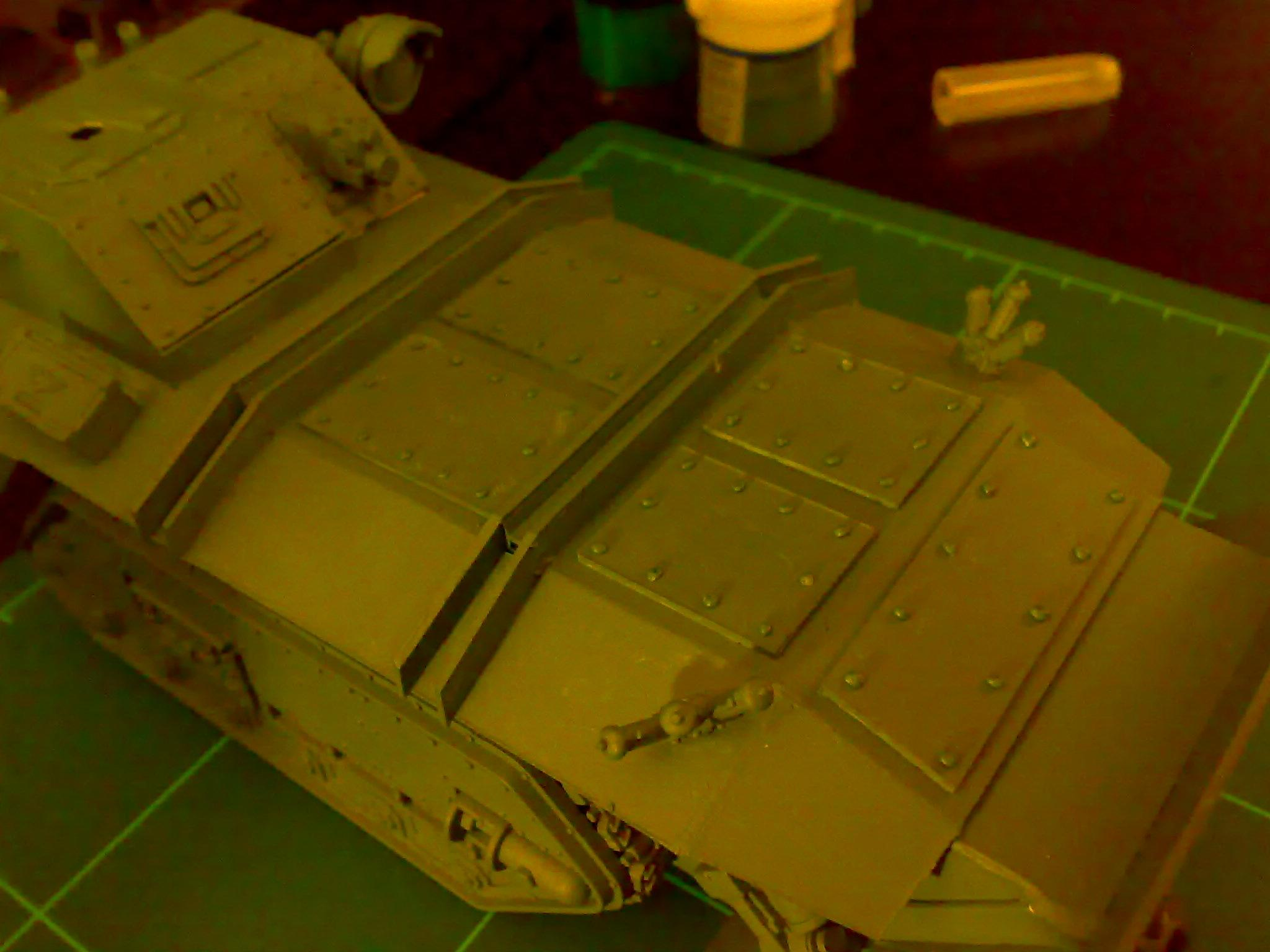 Chimera, Conversion, Gorgon, Imperial Guard, Warhammer 40,000, Work In Progress