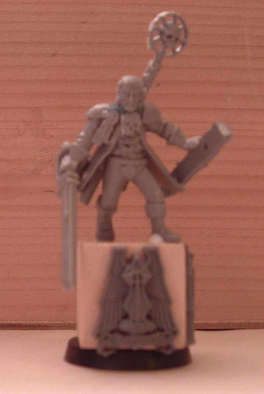 Blurred Photo, Conversion, Inquisitor, Warhammer 40,000, Work In Progress