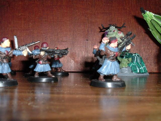 Archers, Block Painting, Conversion, Imperial Guard, Inquisition