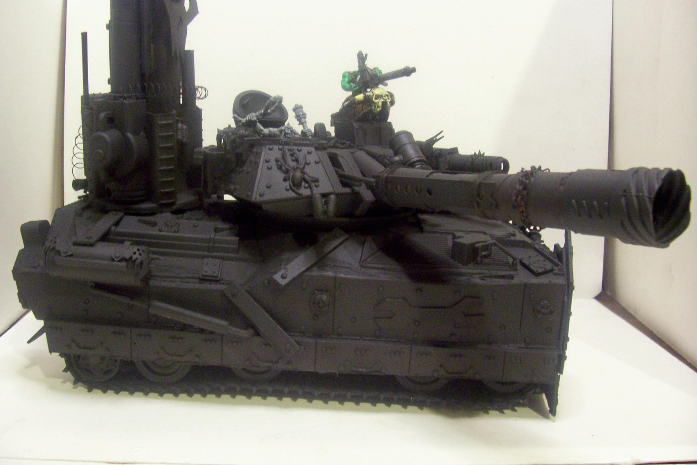 Battlewagon, Orks, Primered, Scratch Build, Tank, Warhammer 40,000