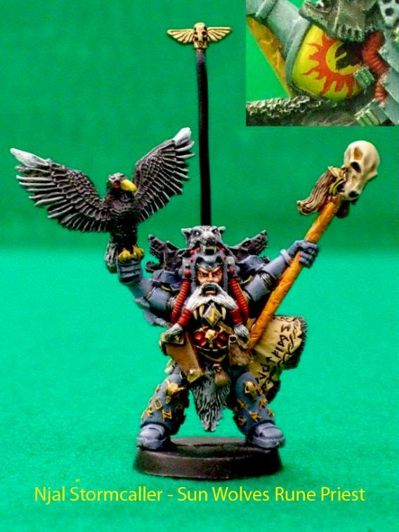 Rune Priest, Space Marines, Space Wolves, Special Character, Warhammer 40,000