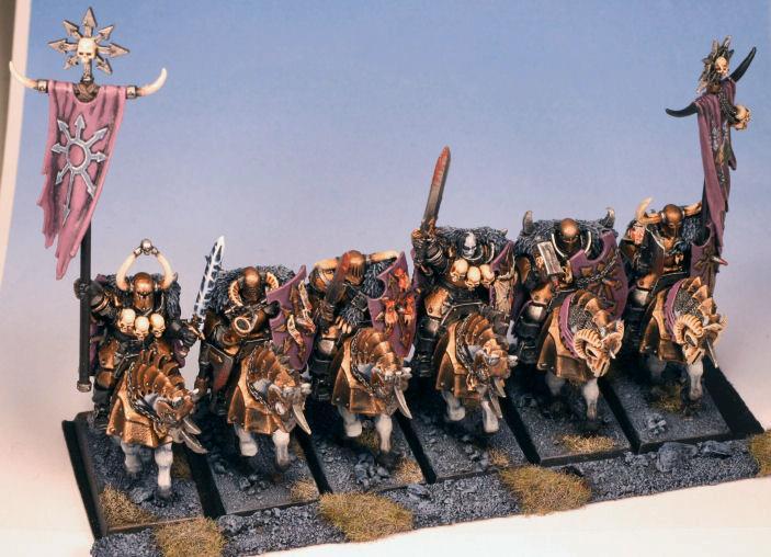 Cavalry, Chaos, Knights, Warhammer Fantasy, Warriors, Warriors Of Chaos