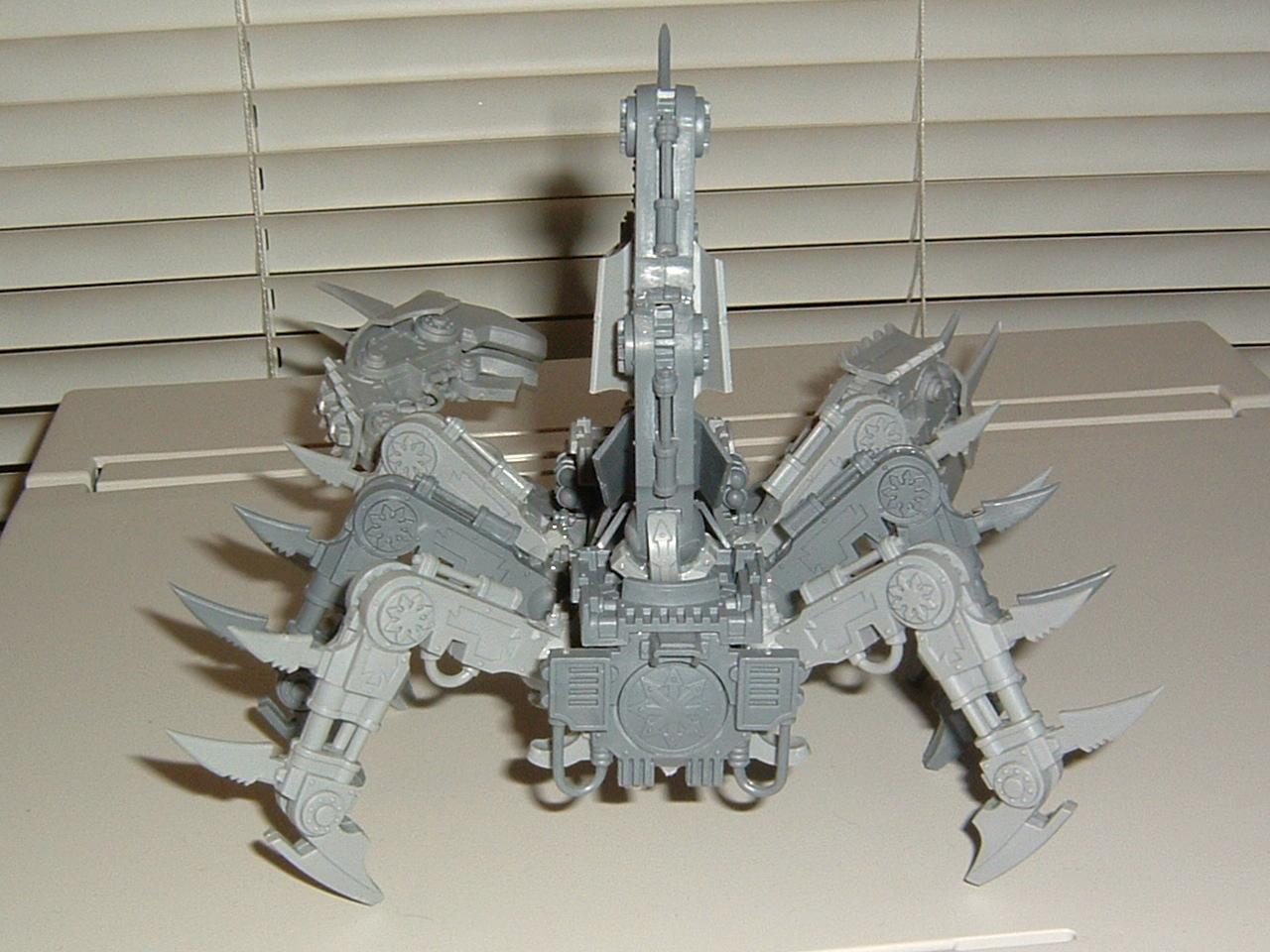 Brass Scorpion, Chaos, Defiler, Warhammer 40,000, Work In Progress