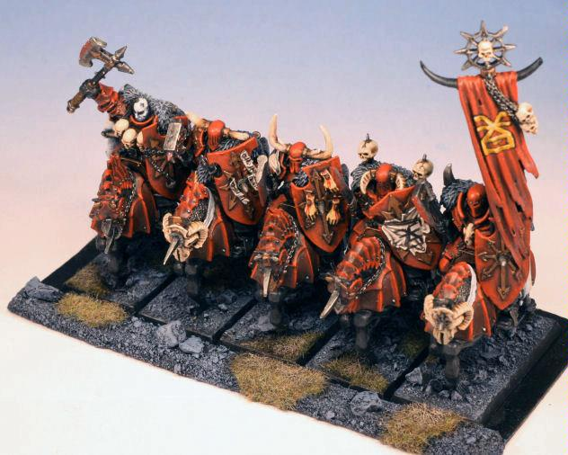 Cavalry, Chaos, Khorne, Knights, Ranked, Warhammer Fantasy, Warriors, Warriors Of Chaos
