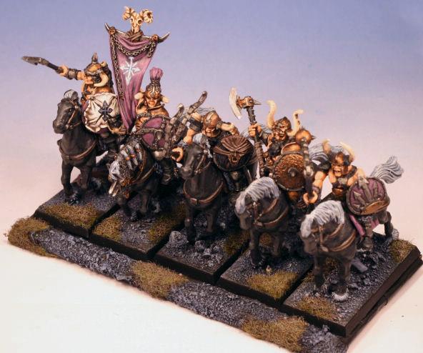 Cavalry, Chaos, Marauder Horsemen, Marauders, Warhammer Fantasy, Warriors Of Chaos