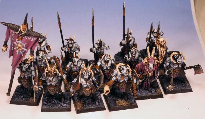 Beastmen, Chaos, Warhammer Fantasy
