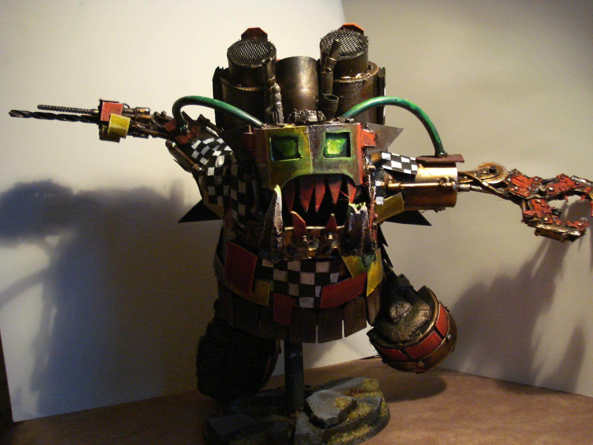 Apocalypse, Awesome, Jump Pack, Orks, Stompa, Warhammer 40,000