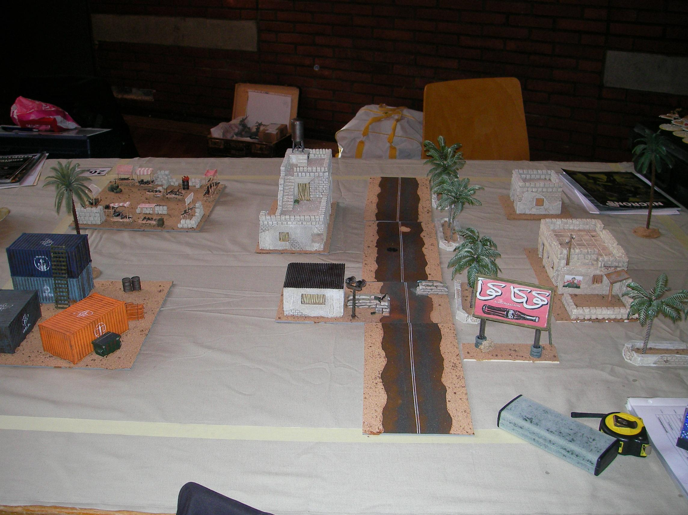 Evolution, Game Table, Iraq, Middle East, Middle Eastern, Modern, Terrain, Town