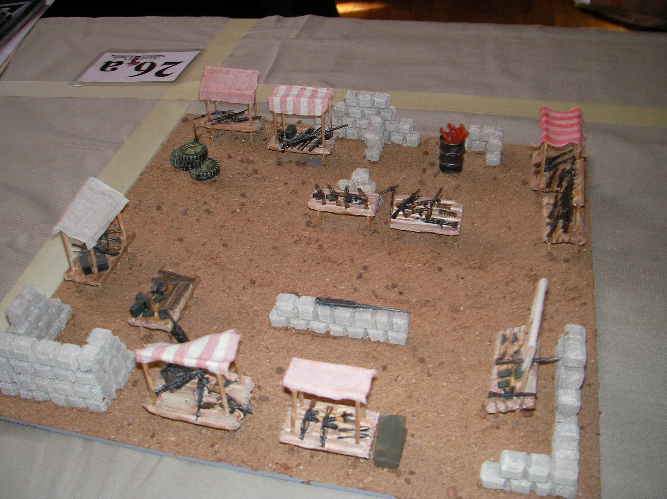 Ammo Dump, Evolution, Game Table, Iraq, Middle East, Middle Eastern, Modern, Terrain