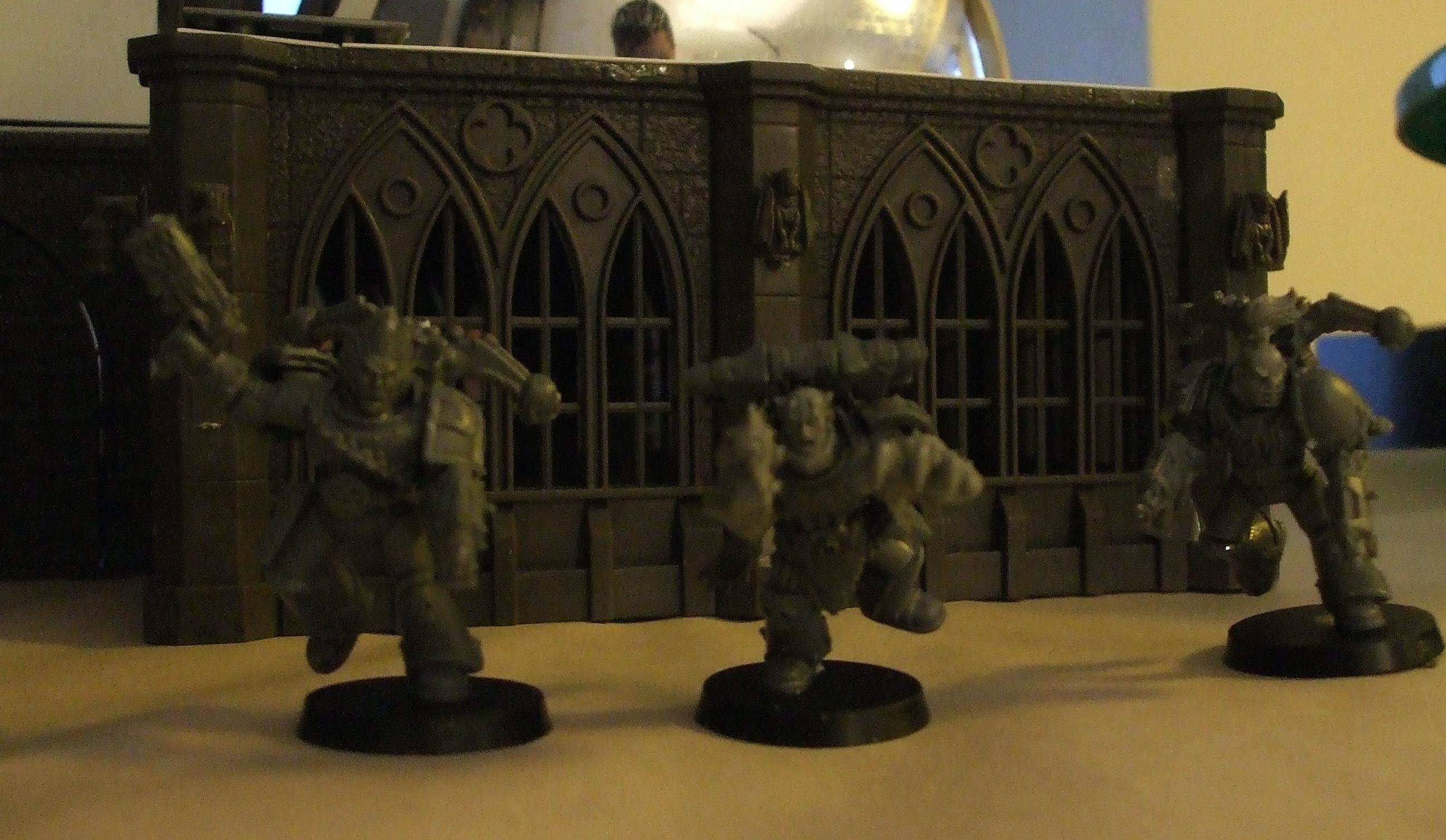 Berserkers, Chaos Space Marines, Warhammer 40,000, Work In Progress