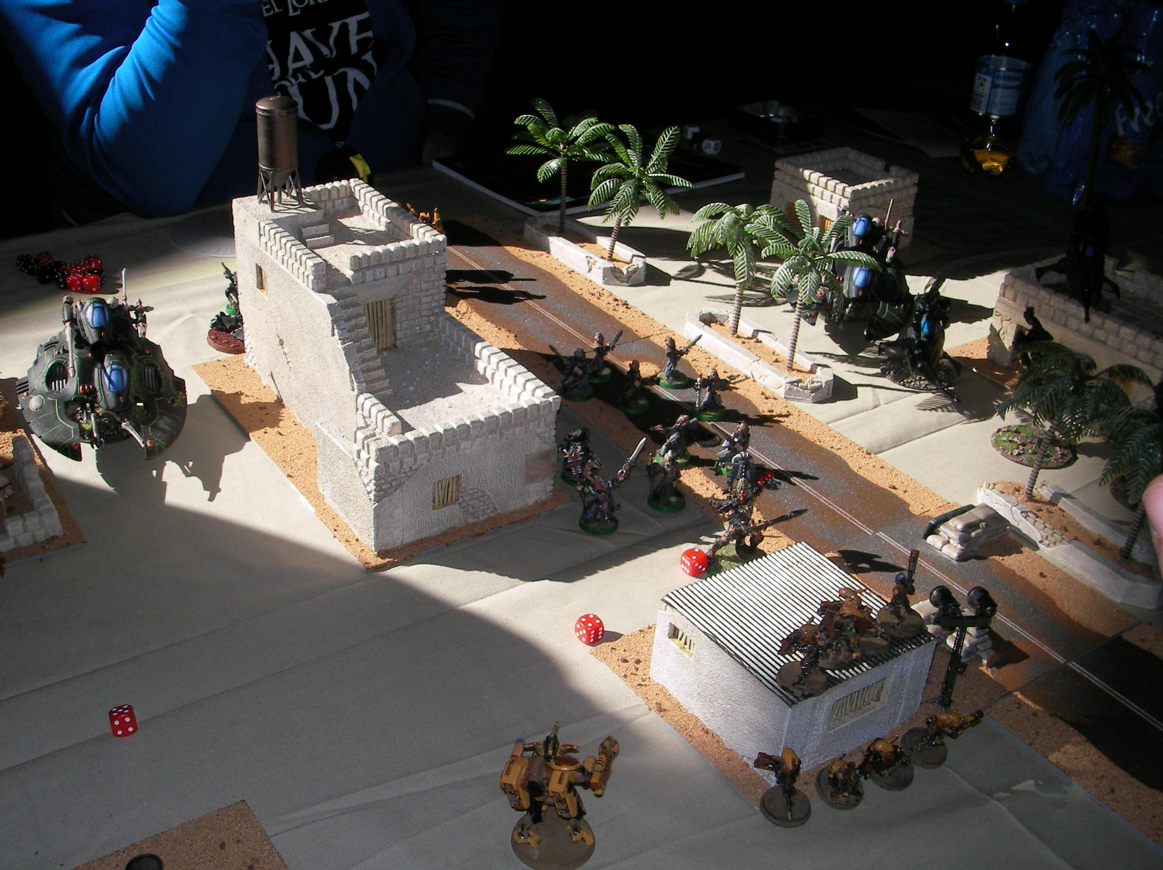 Evolution, Game Table, Iraq, Middle East, Middle Eastern, Modern, Terrain, Town, Warhammer 40,000