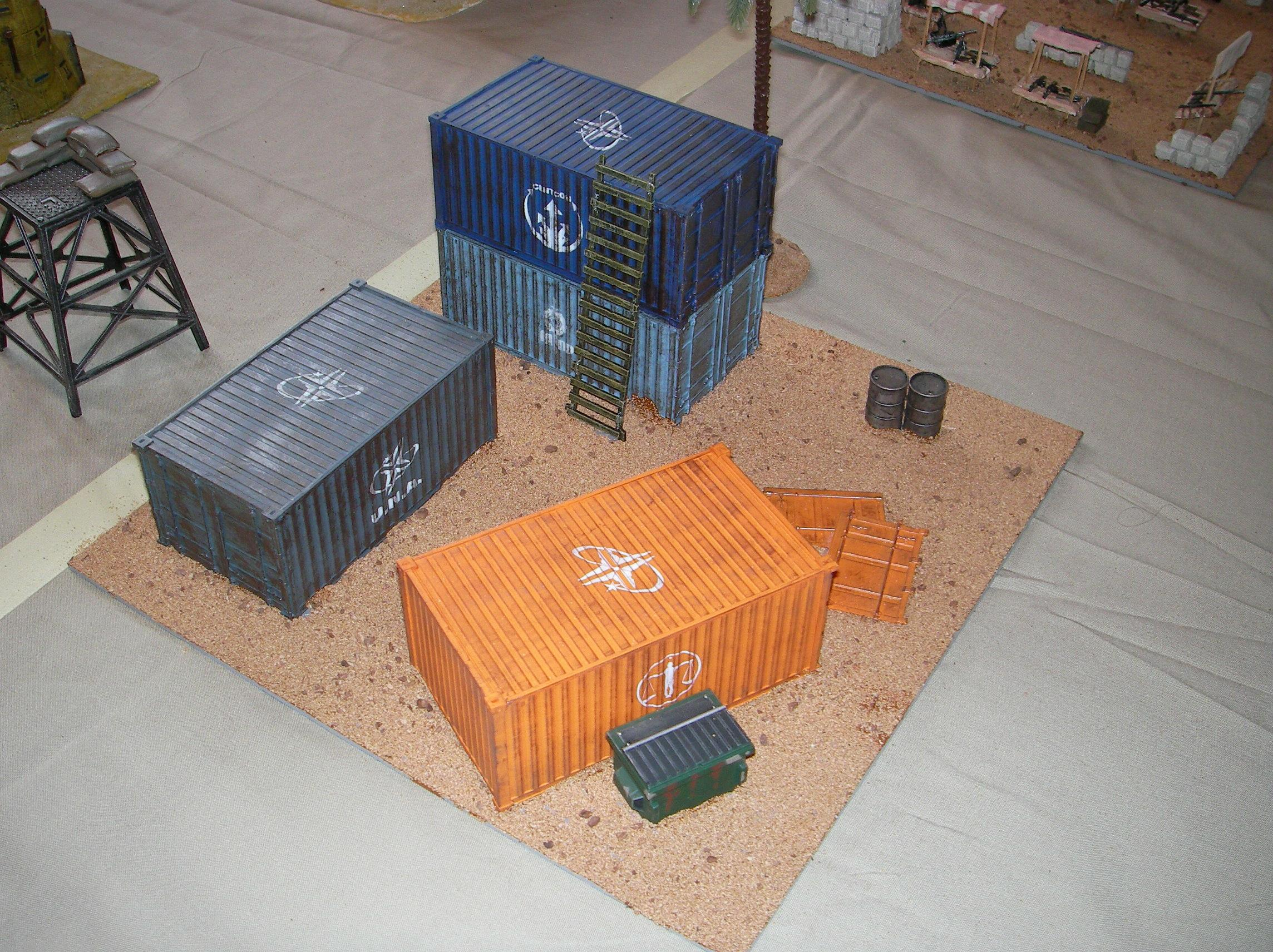 Container, Evolution, Game Table, Iraq, Middle East, Middle Eastern, Modern, Terrain