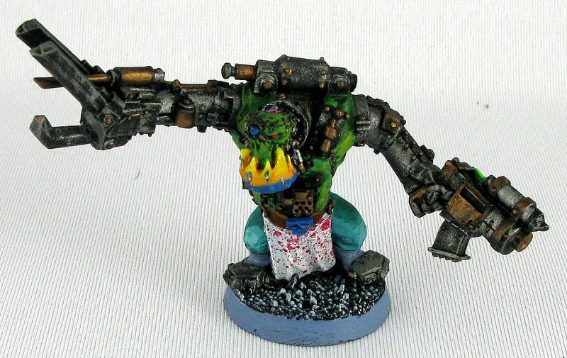 Orks, 3 Mad Dok by deitpike